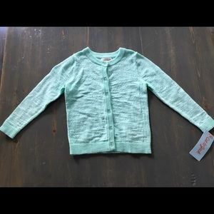 Button-up toddler sweater